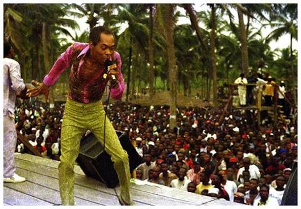 Fela Kuti Live in Chicago