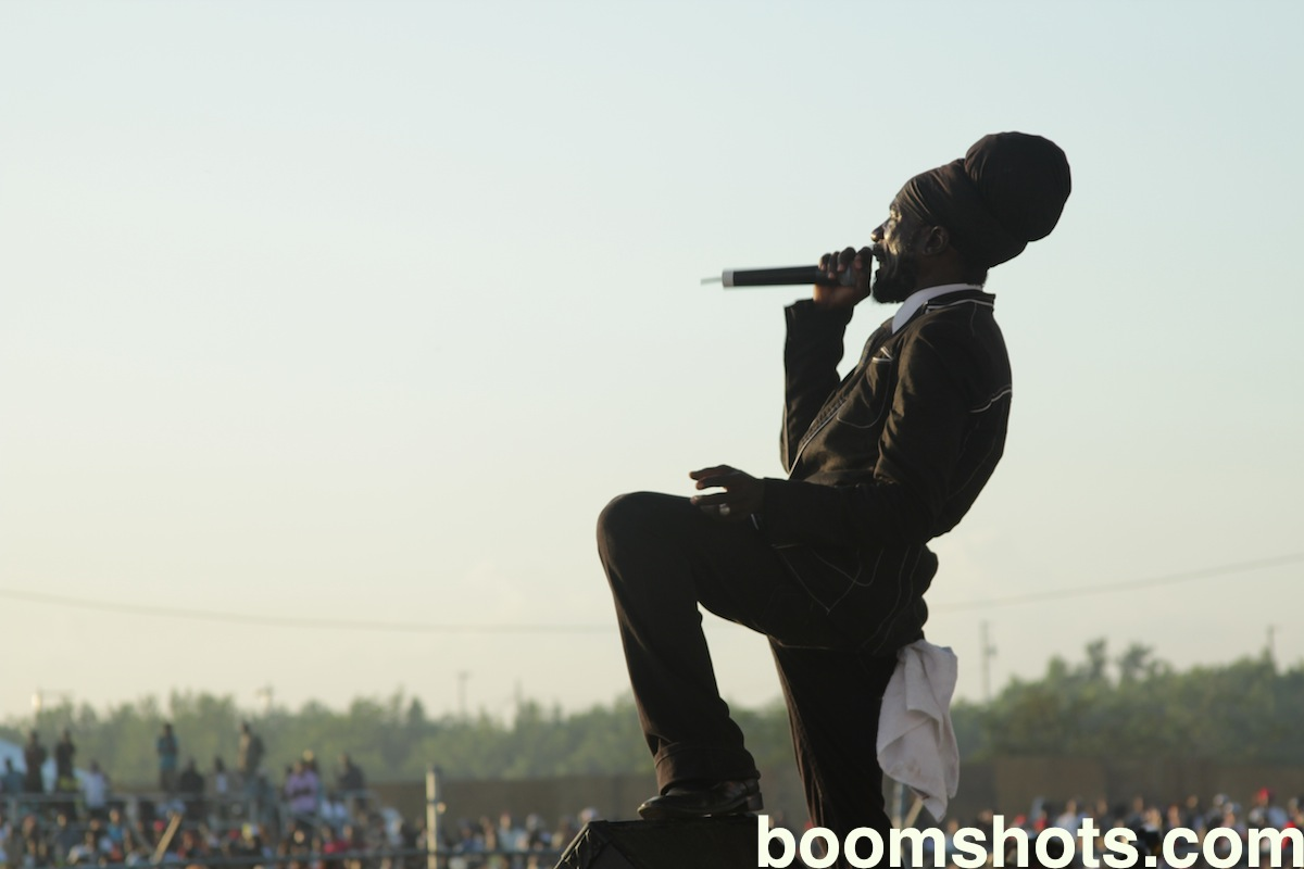 Sizzla Live at Sting
