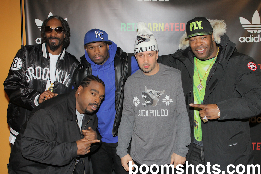 Snoop, Daz, 50, Tony Touch & Busta Rhymes