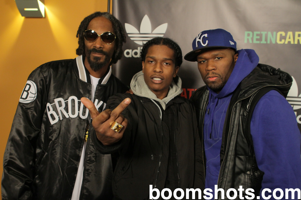 Snoop, A$AP Rocky and 50