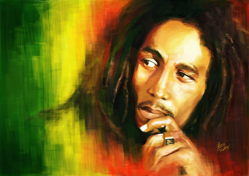 "Bob Marley & The Wailers ""Zion Train"""