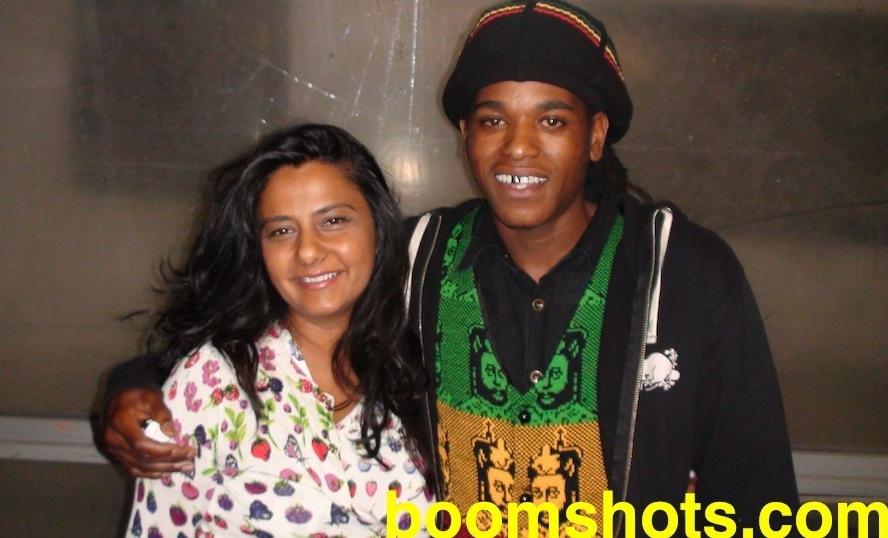 Black Am I & Reshma B LDN 2012BOOM