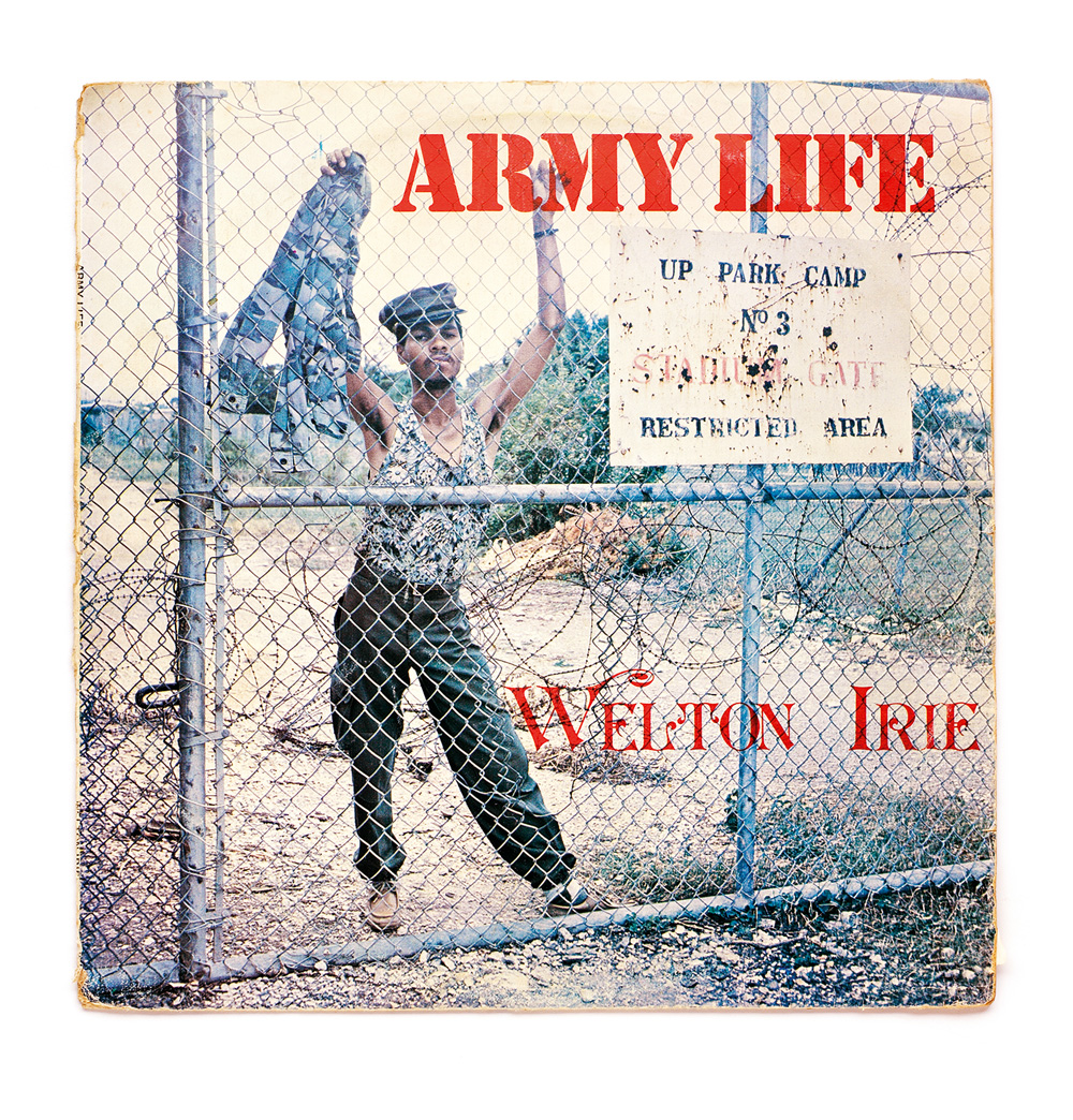 "Welton Irie ""Army Life"" album cover"