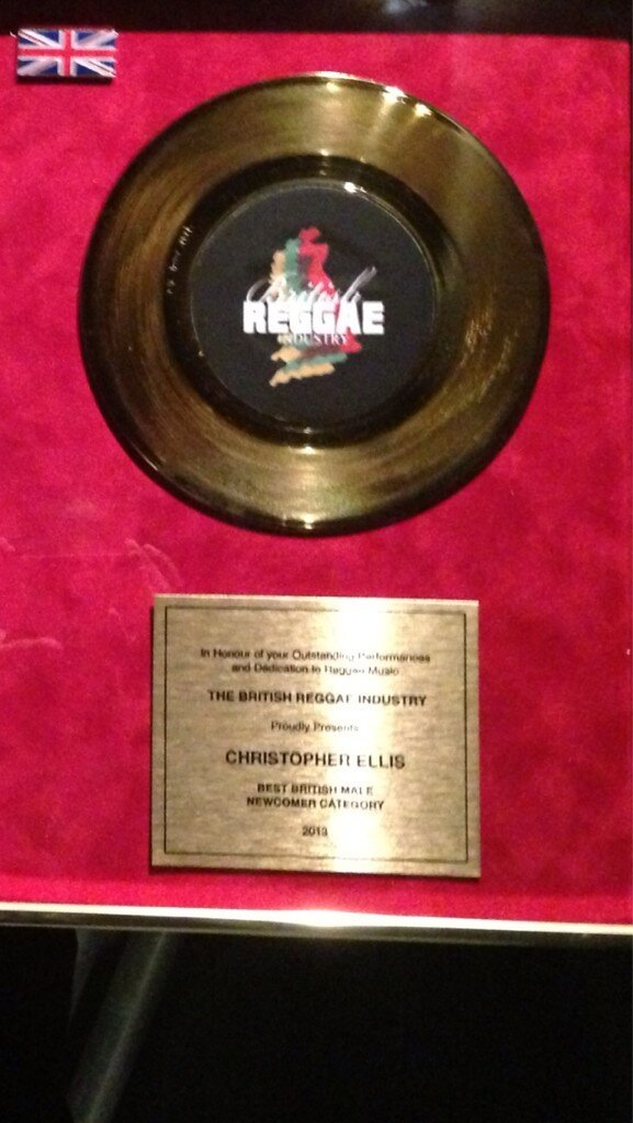Christopher Ellis's award
