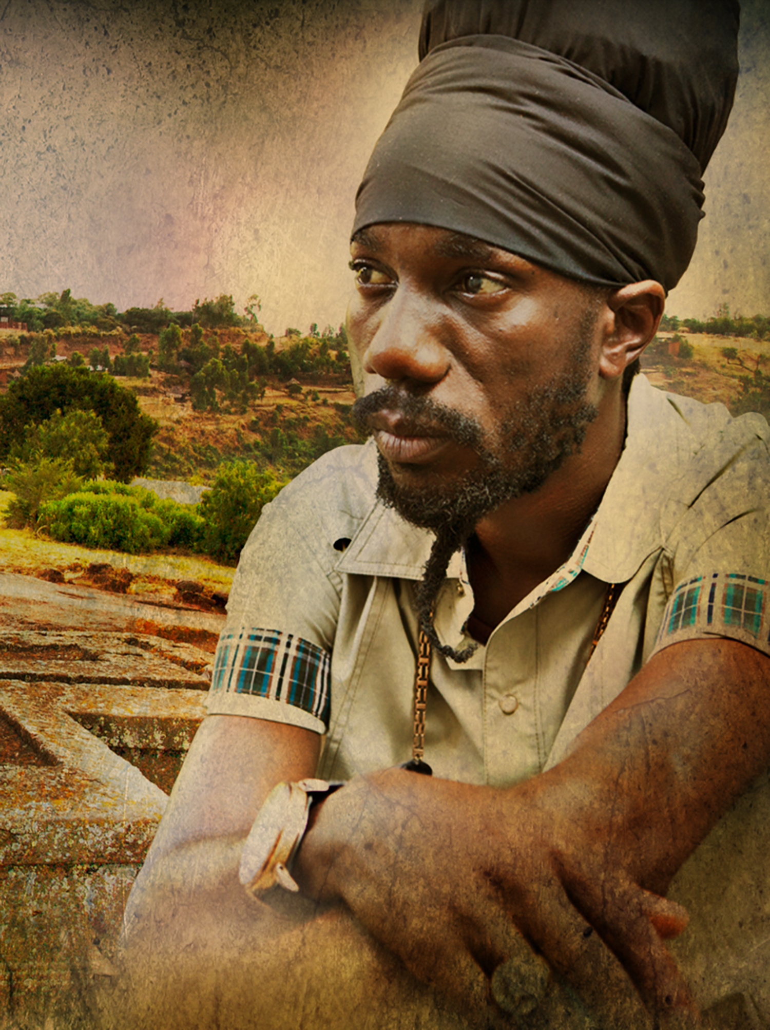 "Sizzla ""Solid as a Rock"""