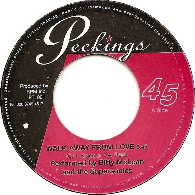 "Bitty McLean ""Walk Away From Love"" (2004)"