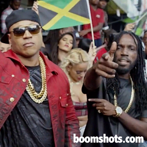 "WATCH THIS: LL Cool J ft. Mavado ""The Hustler"" Official Music Video"