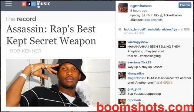 Reasoning with Assassin aka Agent Sasco—Rap's Best Kept Secret Weapon