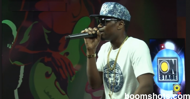 "WATCH THIS: Busy Signal ""Text Message"" Live"