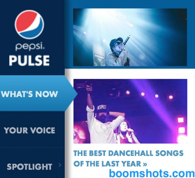 Boomshots x Pepsi Best Dancehall Songs