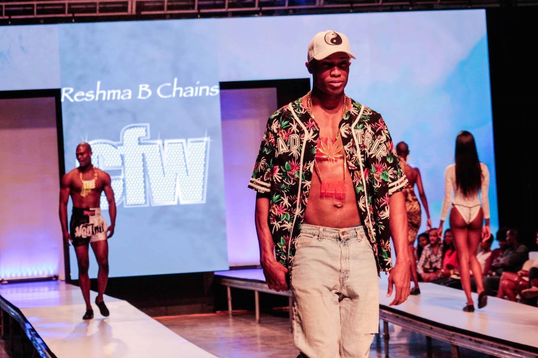 Caribbean Fashion: ReshmaB Chains Make Runway Debut At Caribbean Fashion Week